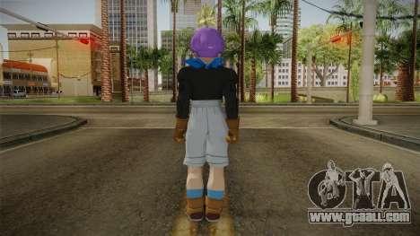 Trunks GT Skin for GTA San Andreas third screenshot