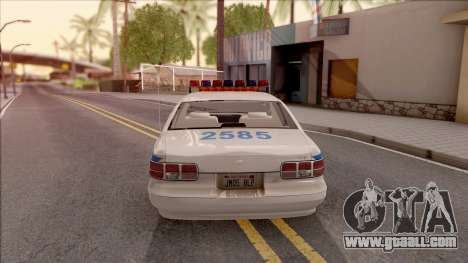 Chevrolet Caprice Police NYPD for GTA San Andreas