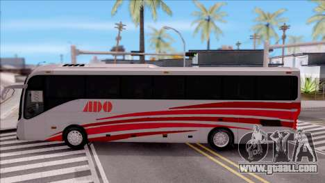 Volvo 9800 4x2 for GTA San Andreas left view