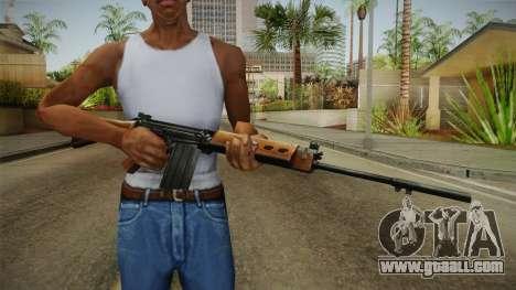 Insurgency FN-FAL Assault Rifle for GTA San Andreas third screenshot