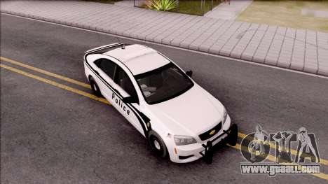 Chevrolet Caprice 2013 Ames Police Department for GTA San Andreas right view