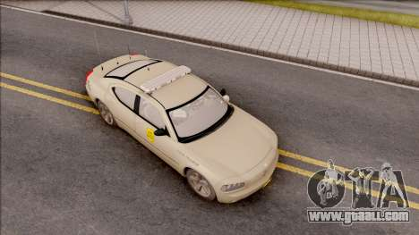 Dodge Charger Gold 2007 Iowa State Patrol for GTA San Andreas right view