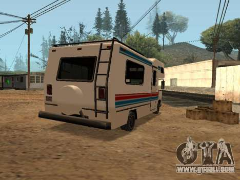 Journey with red and blue stripe for GTA San Andreas left view