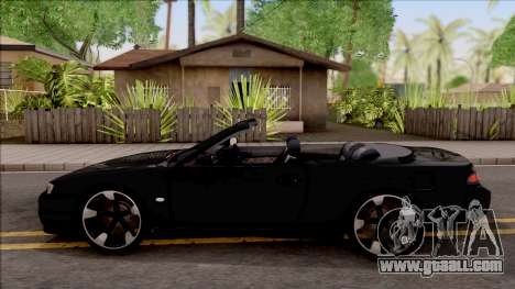 Nissan 200SX Cabrio for GTA San Andreas left view