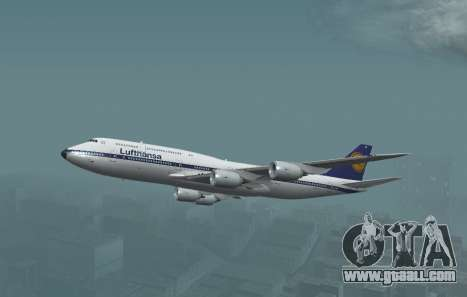 Lufthansa 747-8i Retro Livery for GTA San Andreas