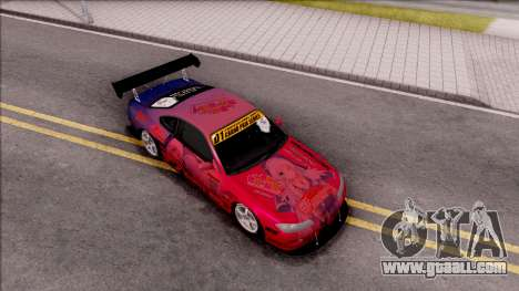 Nissan Silvia S15 Itasha Eris With D1GP for GTA San Andreas