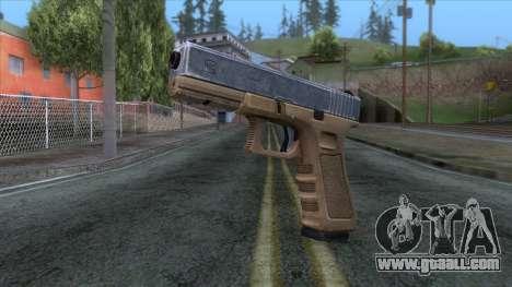 Glock 17 v3 for GTA San Andreas