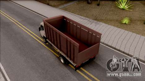 Mitsubishi Fuso Truck for GTA San Andreas back view