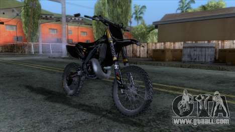 Yamaha YZ 250 FMX for GTA San Andreas