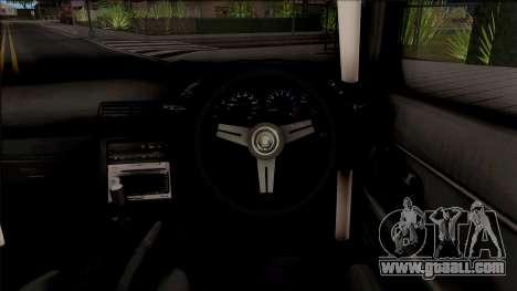 Nissan Skyline R32 Pickup Drift Monster Energy for GTA San Andreas inner view