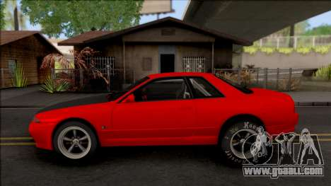 Nissan Skyline R32 Drag v2 for GTA San Andreas left view