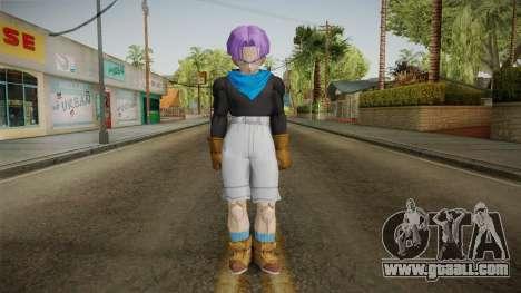 Trunks GT Skin for GTA San Andreas second screenshot