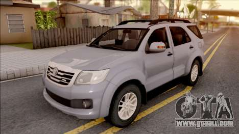 Toyota Fortuner for GTA San Andreas