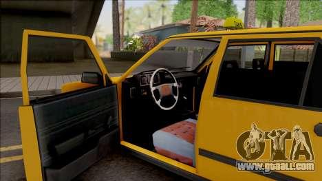 Tofas Sahin Taxi 1999 v2 for GTA San Andreas inner view