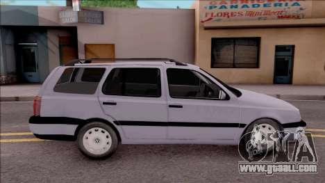 Volkswagen Golf Mk3 Variant for GTA San Andreas left view