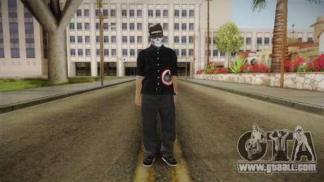 GeoTube Skin for GTA San Andreas second screenshot