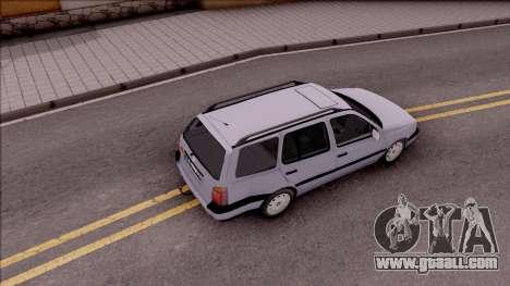Volkswagen Golf Mk3 Variant for GTA San Andreas back view