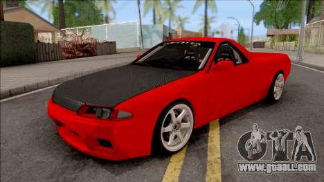 Nissan Skyline R32 Pickup Drift Monster Energy for GTA San Andreas