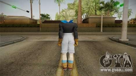 Trunks GT SSJ Skin for GTA San Andreas third screenshot