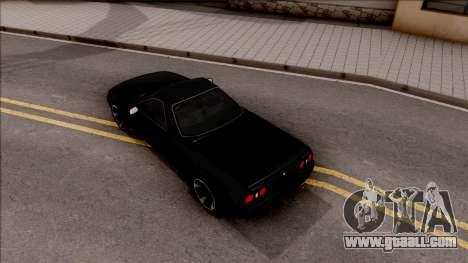 Nissan Skyline R32 Pickup v2 for GTA San Andreas back view