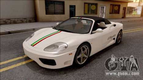 Ferrari 360 Spider US-Spec 2000 IVF for GTA San Andreas side view