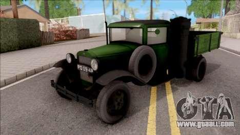 GAZ-42 1940 for GTA San Andreas
