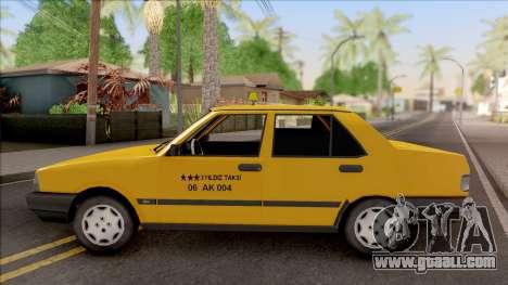 Tofas Sahin Taxi 1999 v2 for GTA San Andreas left view