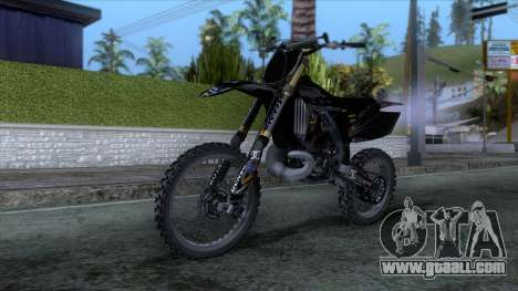 Yamaha YZ 250 FMX for GTA San Andreas right view