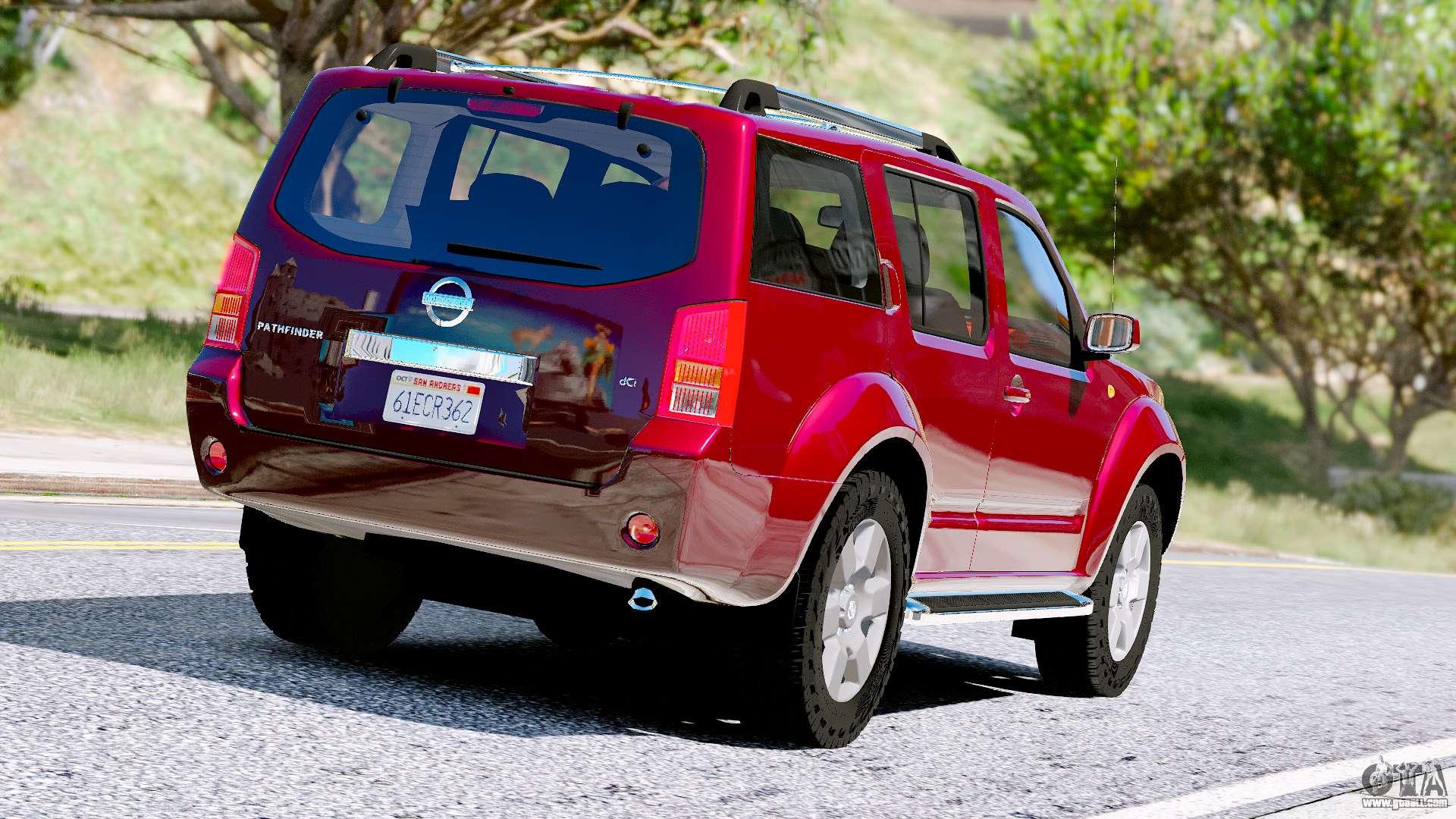 Nissan Pathfinder 2007 For Gta 5