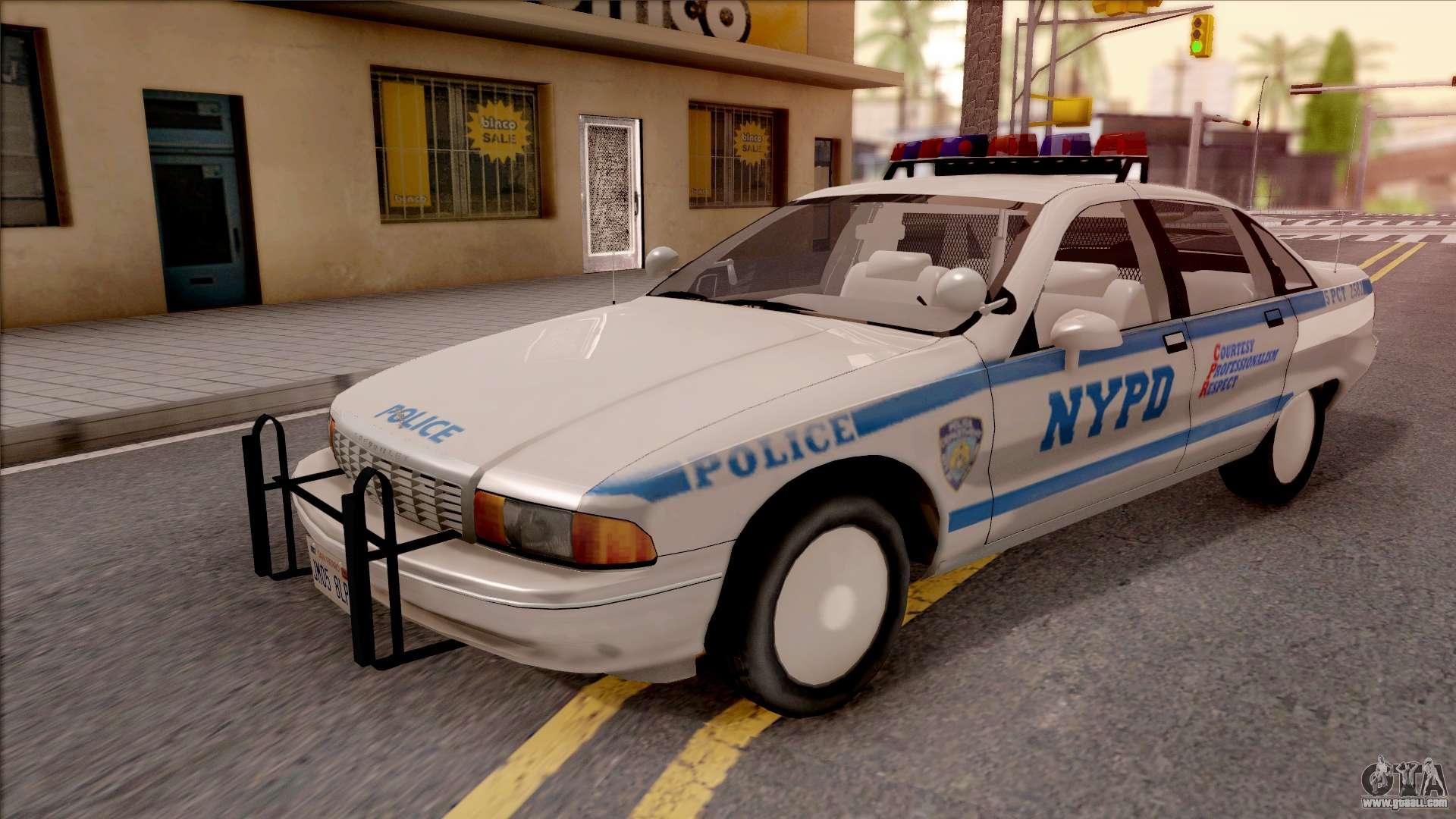 meet online store 100% authentic Chevrolet Caprice Police NYPD for GTA San Andreas