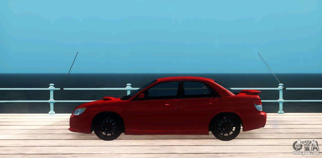 Subaru Impreza WRX Hawkeye Baby Driver v 1 for GTA San Andreas
