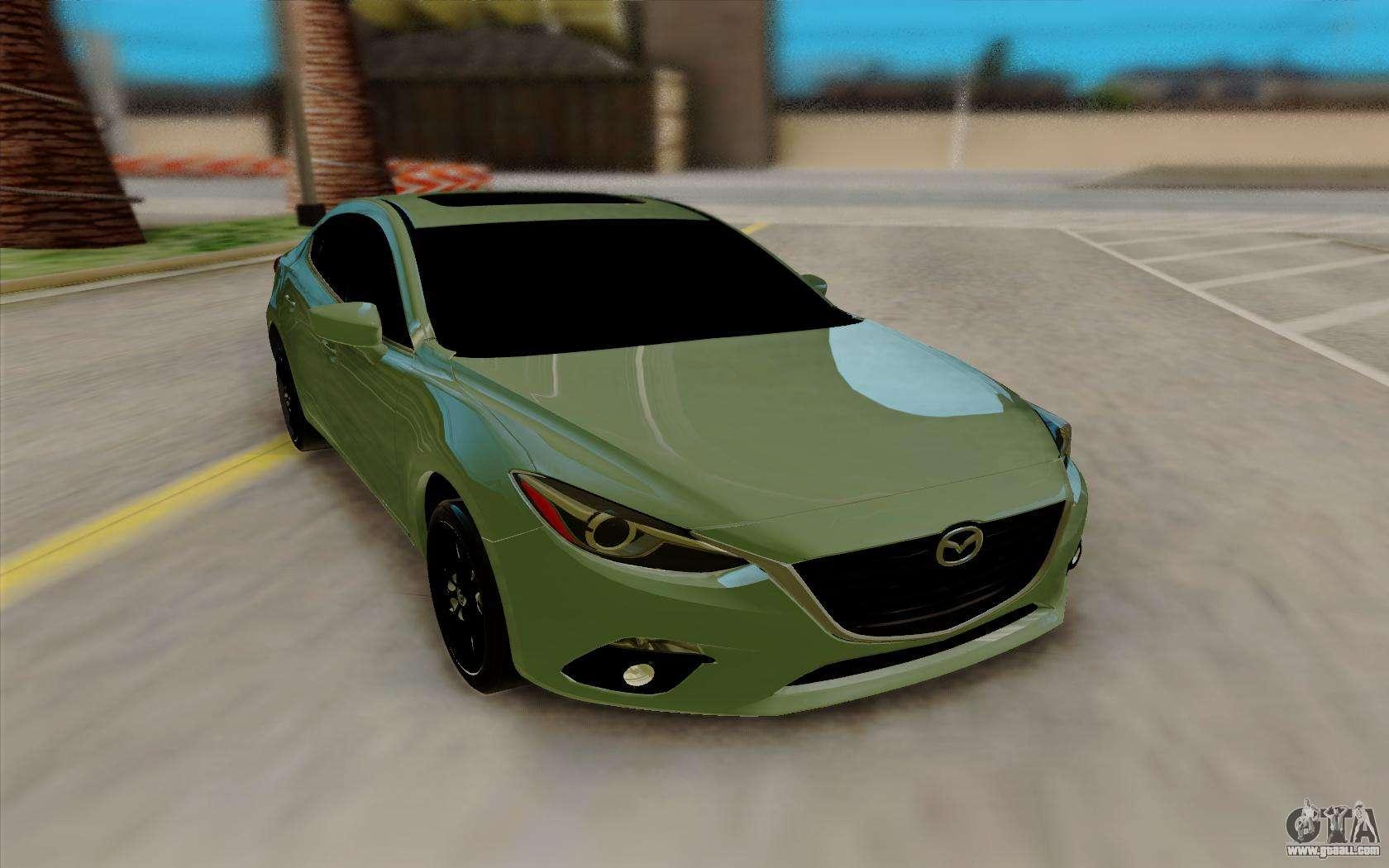 Mazda 3 Mods >> Mazda 3 Sedan 2014 For Gta San Andreas