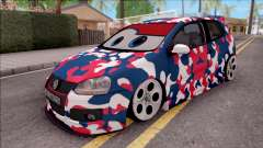 Volkswagen Golf BK GARAGE for GTA San Andreas
