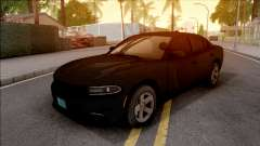 Dodge Charger Unmarked 2015 for GTA San Andreas