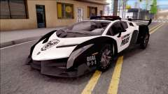 Lamborghini Veneno Police Las Venturas for GTA San Andreas