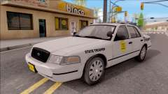 Ford Crown Victoria 2007 Iowa State Patrol for GTA San Andreas