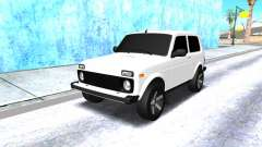 VAZ 2121 Armenian white for GTA San Andreas