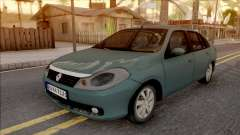 Renault Symbol 2009 Expression Version for GTA San Andreas