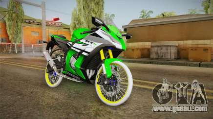 Kawasaki ZX10 R R17 for GTA San Andreas