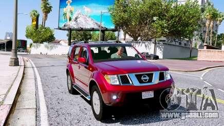 Nissan Pathfinder 2007 for GTA 5