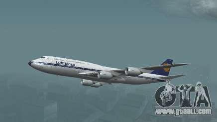 Lufthansa 747-8i Retro Livery for GTA San Andreas