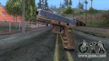 Glock 17 v3 for GTA San Andreas