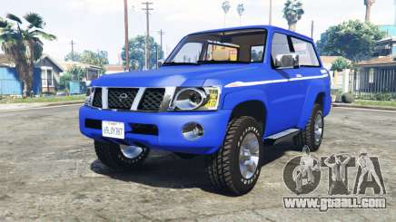 Nissan Patrol GL VTC (Y61) 2016 v1.1 [add-on] for GTA 5