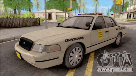 Ford Crown Victoria 2003 Iowa State Patrol for GTA San Andreas
