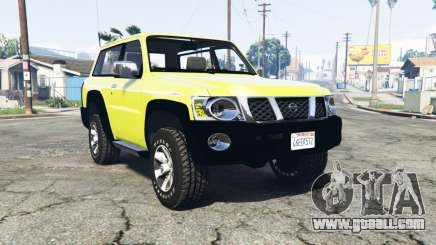 Nissan Patrol GL VTC (Y61) 2016 v1.1 [replace] for GTA 5