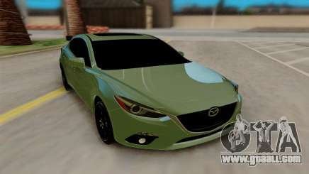 Mazda 3 Sedan 2014 for GTA San Andreas