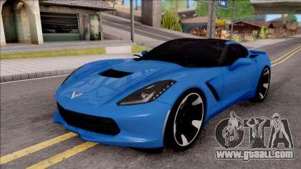 Chevrolet Corvette Stingray C7 2014 for GTA San Andreas