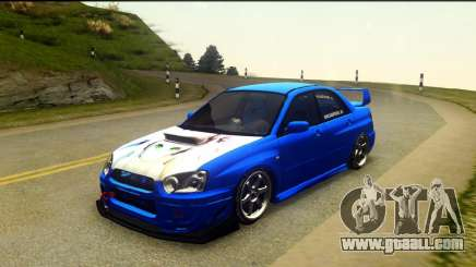 Subaru Impreza WRX STi 2004 (Virtual Diva) for GTA San Andreas