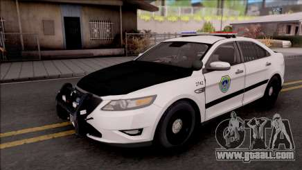 Ford Taurus 2011 Des Moines PD for GTA San Andreas