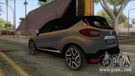 Renault Captur for GTA San Andreas right view